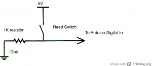 Reed Switch Schematic
