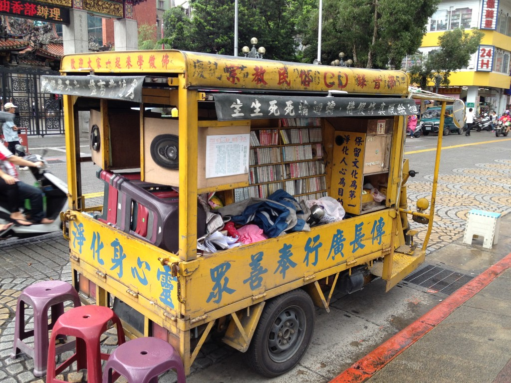 """Exhortation Tricycle"", Taipei, photo by Wendy Hsu"